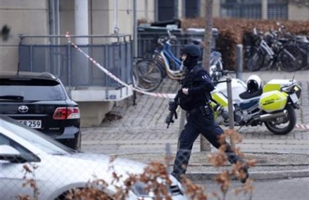 Shootout at Copenhagen cafe free speech event