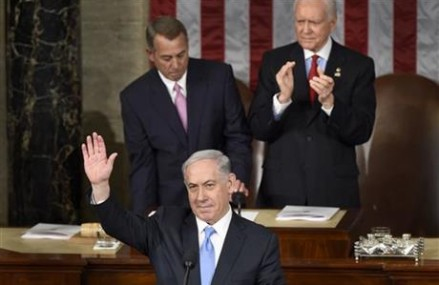 Netanyahu assails Iran-nuclear talks in Congress address