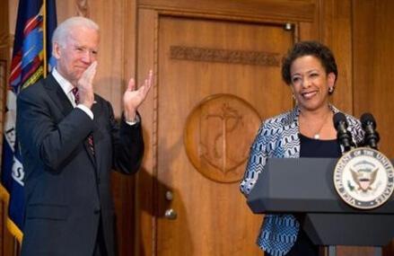 Loretta Lynch sworn in as new US attorney general