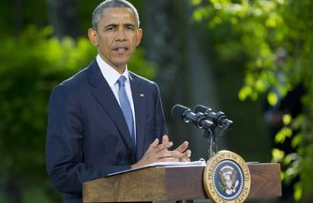 Obama puts stricter controls on military-style for police