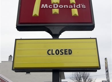 APNewsBreak: McDonald's to shrink in US, 1st time in decades