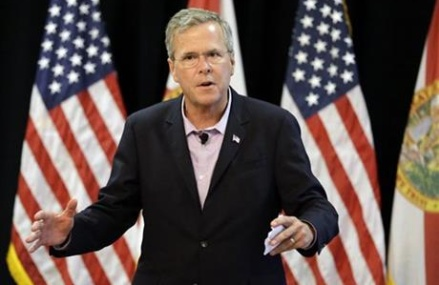Million-dollar donors lift Jeb Bush's presidential ambitions