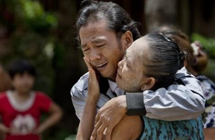Myanmar fisherman goes home after 22 years as a slave