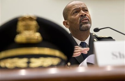 Half of blacks say police have treated them unfairly