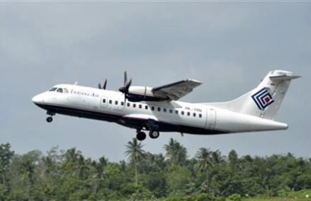 Airliner with 54 aboard goes missing in eastern Indonesia