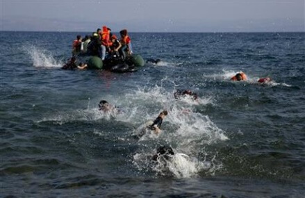 The Latest: 13 migrants die after boat collision off Turkey