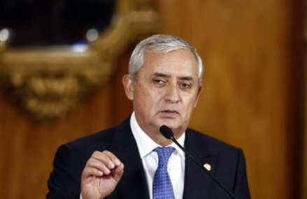 Guatemala president resigns amid corruption probe