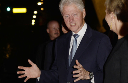 Bill Clinton says GOP, media at fault for wife's email woes