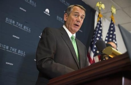 Speaker Boehner pushes for budget deal before leaving House