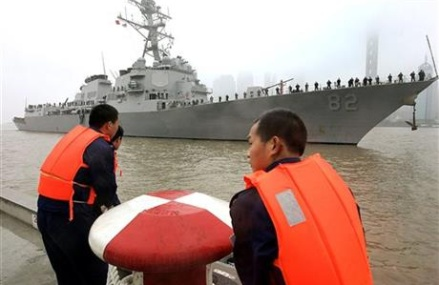 China summons US ambassador to protest ship near reef