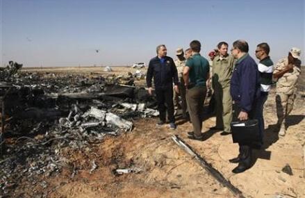 Metrojet exec says external impact caused Egypt plane crash