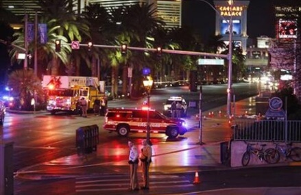 Driver deliberately plows into people on Vegas Strip; 1 dies