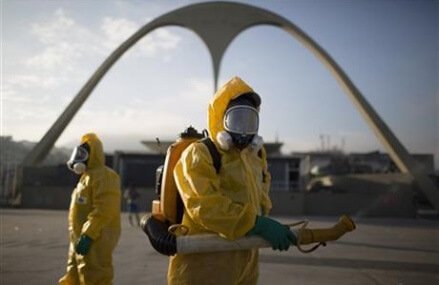 Health minister: Brazil is 'losing battle' against mosquito