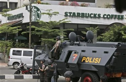 IS claims Jakarta attacks that left 5 gunmen, 2 others dead