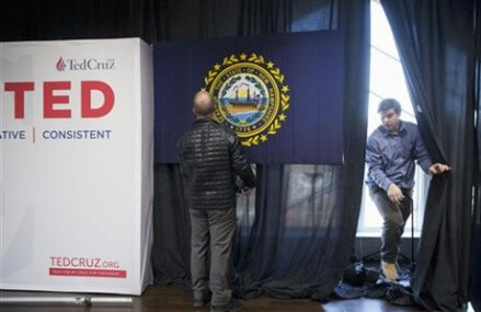 Campaigns turn to New Hampshire with Cruz ascendant