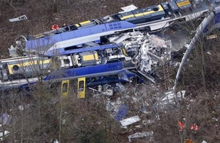 Train crash in Germany kills at least 10, injures 80
