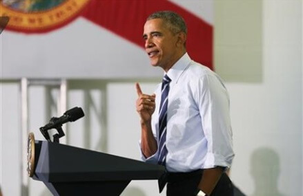 Obama: Deniers of economic gains aren't telling the truth