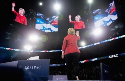Clinton attacks Trump's qualifications in AIPAC address