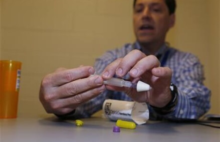 Heroin overdose antidote offers hope for vulnerable inmates