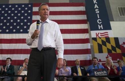 AP sources: Kasich to end bid for Republican nomination