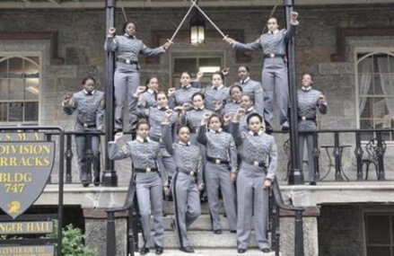 West Point launches inquiry into cadets' fists-raised photo