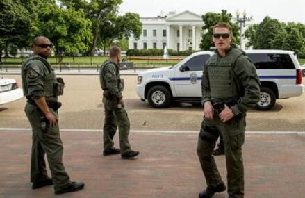 Secret Service shoots man with gun outside White House