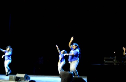 CMG street team's Coverage of the KCGP step show