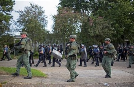 Protests of police killings: Dozens of arrests in Louisiana