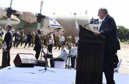 Israel's Netanyahu in Uganda to start 4-nation Africa tour