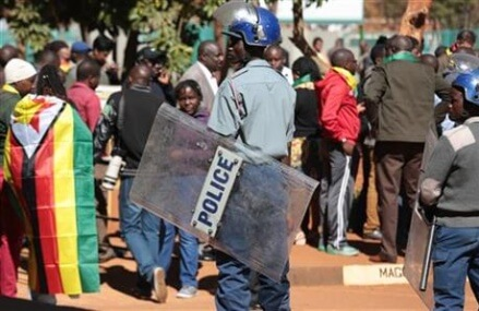 Zimbabwe pastor charged with trying to overthrow government