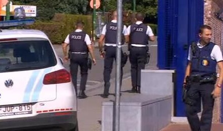 Attacker wounds 2 police in Belgium, shouts 'Allahu Akhbar'