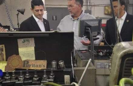 In split, Ryan stumping for House GOP but not for Trump