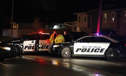 Police: 2 Iowa officers killed in 2 ambush-style attacks
