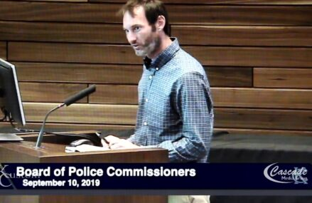 Kansas City Police Board meeting September 10 2019 Speaker 06 Cobe