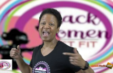 Kimiko Black Gilmore ambassador For Black Women Get Fit Mind.Body.Soul