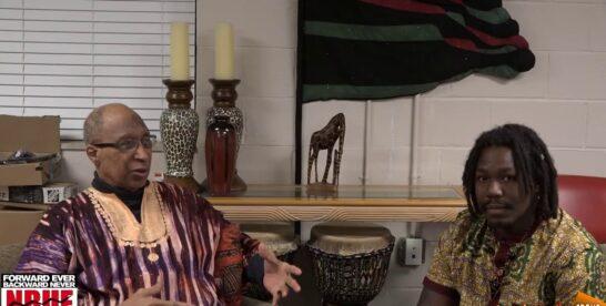Interview with Leon Dixon after the Umoja Karamu ceremony