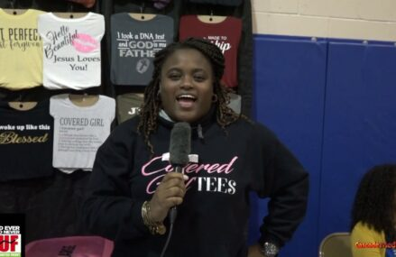 Interview With Covered Girls Tee Owner Ebony Hogan At The We Buy Black Flash Market