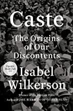 CMG August Book Of The Month Is Caste (Oprah's Book Club): The Origins of Our Discontents