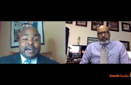 Conversation With Cascade Media Group Founder Carlos Nelson Sr. Discussing Issues That Affect The African American Community (AAC) With Marvin Layman