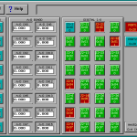 Matrix Plasma Asher Descum System Board Test screen