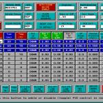 Matrix Plasma Asher Descum System -Recipe Edit screen