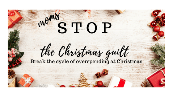 How to stop the Christmas guilt.