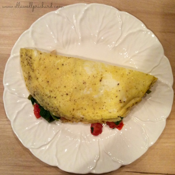 almost-perfect omelet