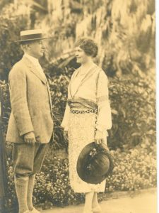 Alfred I. duPont and his wife, Jessie Ball duPont, namesakes of Oysters Dupont (1922).