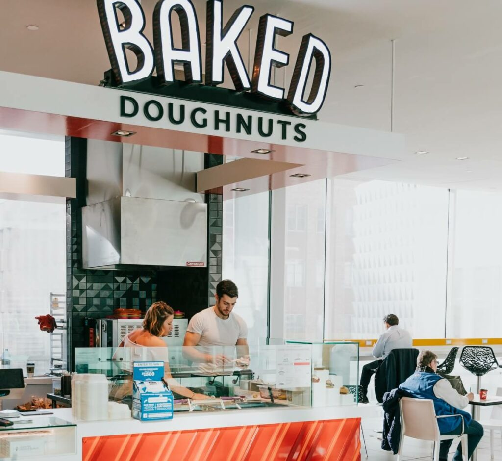 Baked Doughnuts - Food Service Construction