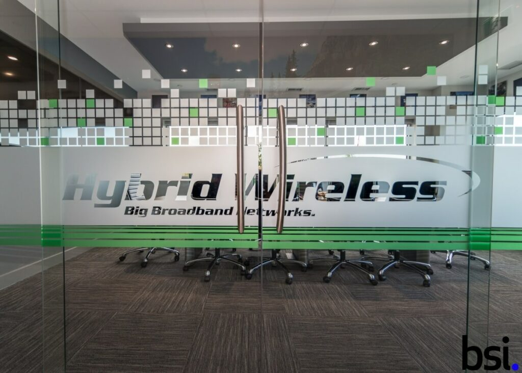 Office Construction Project - Hybrid Wireless
