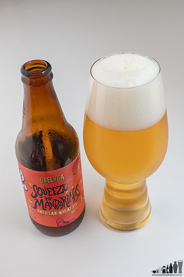 ipa day: SQUEEZE MY MANDARINAS; Estilo: Wheat IPA; Alcohol por Volumen : 6,9 %