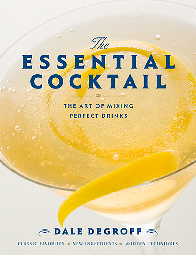 Dale DeGroff: Portada de The Essential Cocktail, 2008.