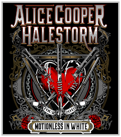 Alice Cooper & Halestorm @ Starlight Theater