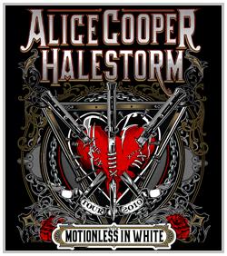 Alice Cooper & Halestorm @ Starlight Theater